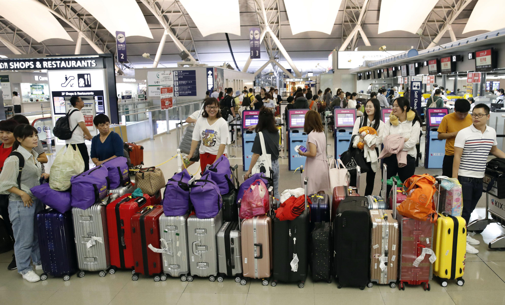Bag Shops Hands Free Travel Approaches Reality In Japan As Firms Tap Demand