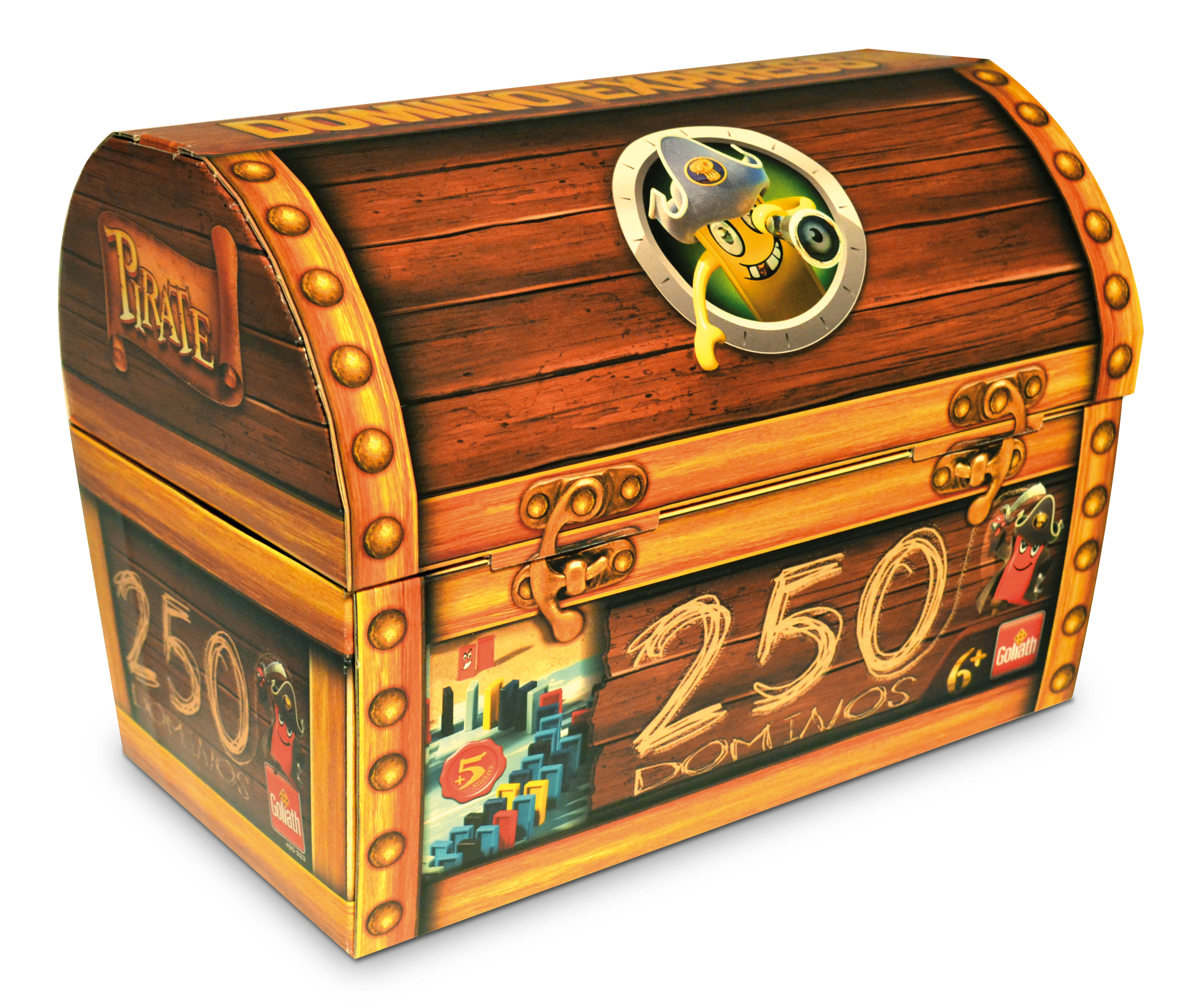 Jeux Domino Domino Express Pirate Refill Chest Goliath France Goliath