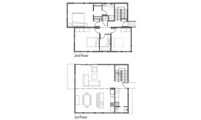 Awesome Modern Foursquare House Plans 18 Pictures - House Plans