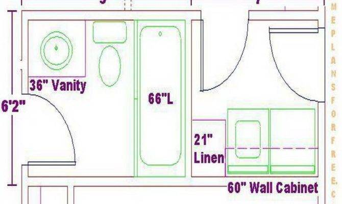 Bathroom Laundry Room Layout Cabinets - House Plans | #42848