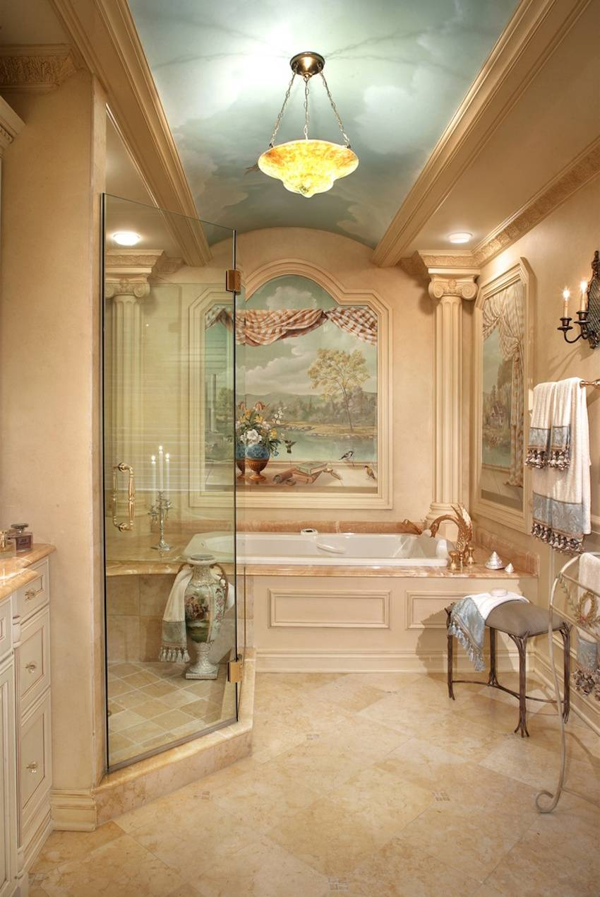 Magnificent Luxury Master Bathroom Ideas Version House Plans 163907