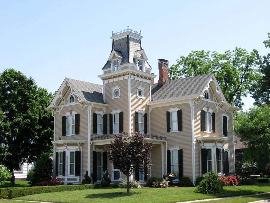 Victorian Era Style Home - House Plans | #20635