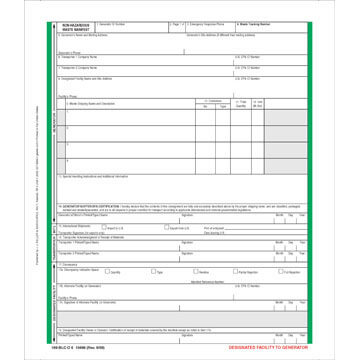 Bill of Lading Forms and Shipping Papers - shipping bol