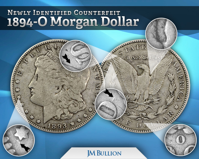 New Morgan Silver Dollar Fakes Spotted Tips to Identify Common