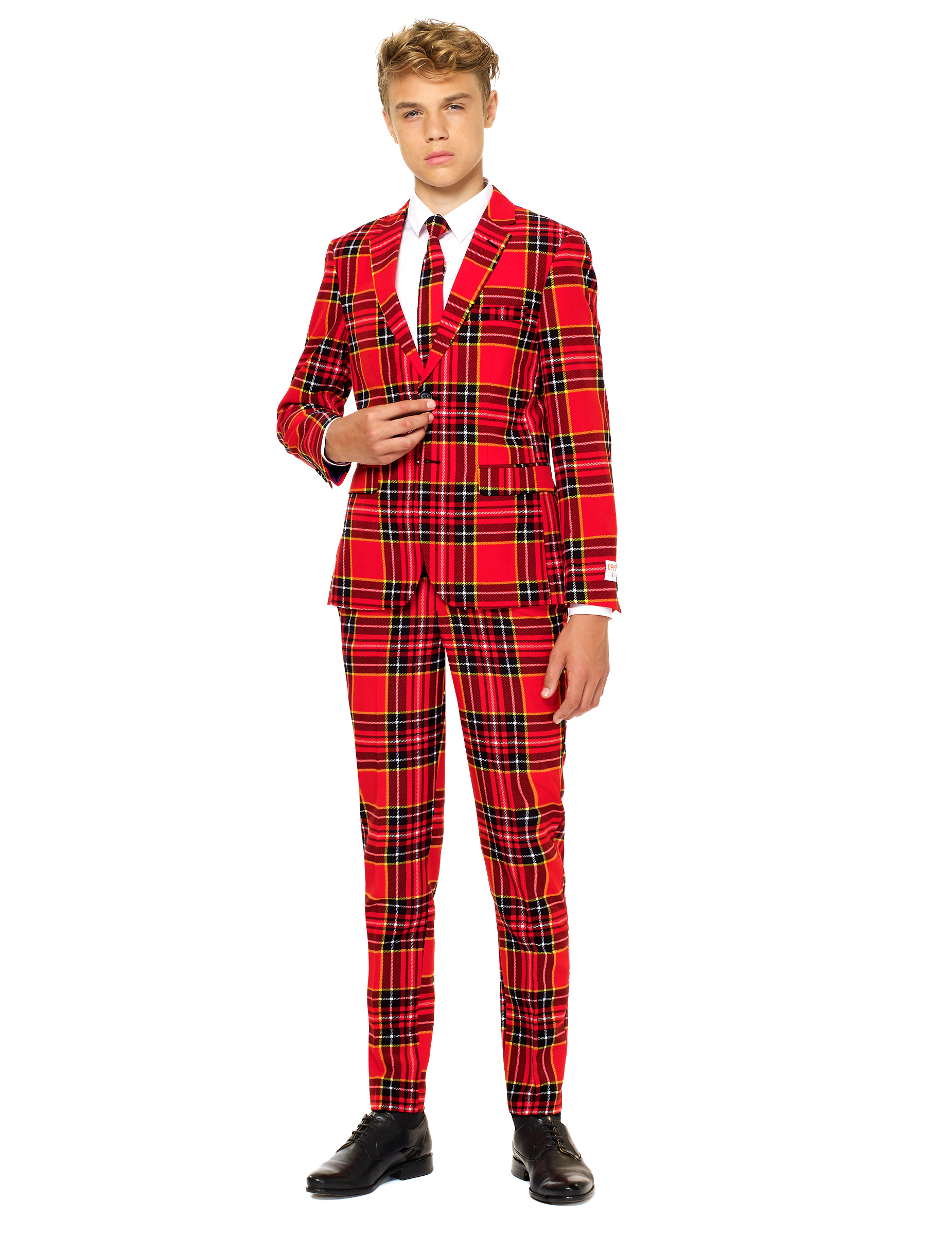 Teenager Kostüme Opposuits Kostüm Für Teenager Rot Günstige Faschings