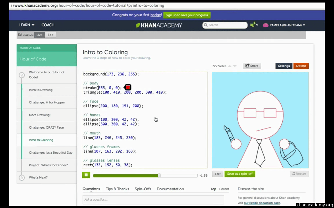 Khan Academy Welcome To Our Hour Of Code Video Khan Academy