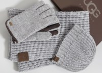Ugg Hat Scarf And Glove Set
