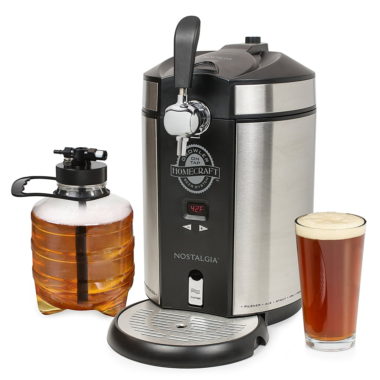 Countertop Beer Cooler And Tap Mini Kegerators