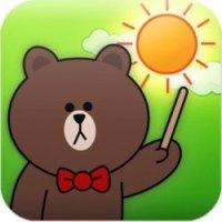 line camera bear download tag