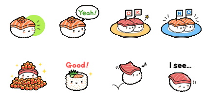 免費原創貼圖-sushiyuki