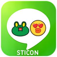 LINE sticon icon