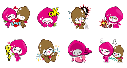 line stickers 2333