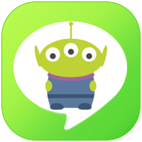 line theme  icon  - Toy Story
