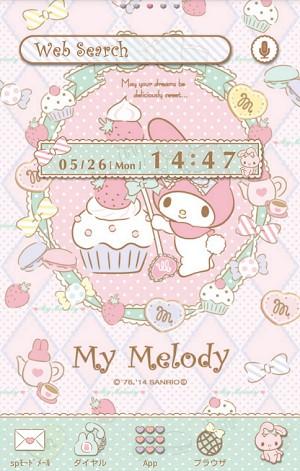粉紅美樂地 Melody背景主題 (1)