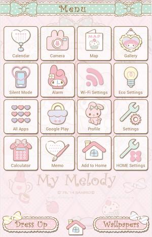 粉紅美樂地 Melody背景主題 (2)