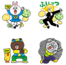 Fit's & LINE Collaboration Sticker-SP
