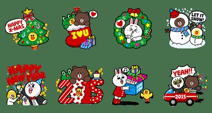 line sticker3658