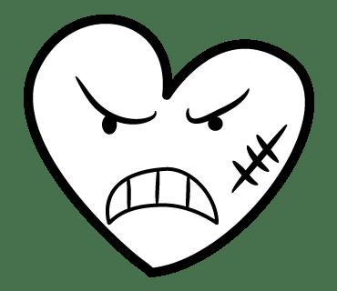 LINE原創貼圖-愛心表情圖案 (10)