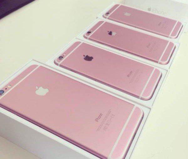 粉紅色iPhone6s