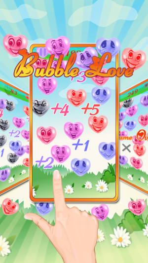 IOS限時免費軟體APP-Bubble Love 1