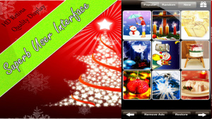 IOS限時免費軟體APP-Christmas Wallpapers 2