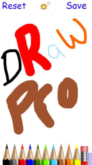 IOS限時免費軟體APP-Draw Pro 1