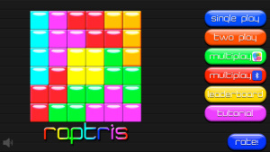 IOS限時免費軟體APP-Raptris 1