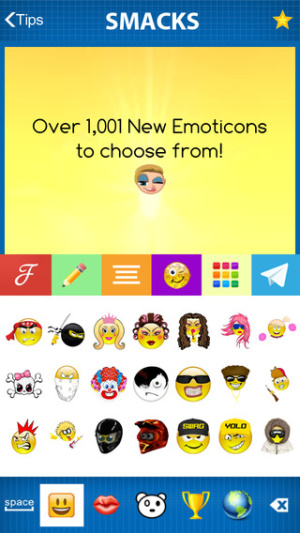 iOS限免、限時免費軟體app遊戲-SMACKS DIRTY EMOJI 2