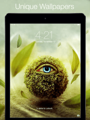 iOS限時免費軟體-Best 3D Wallpapers for iPad 2