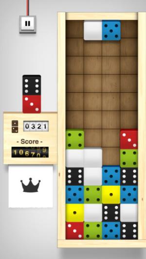 iOS限時免費軟體APP-Domino Drop 1