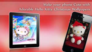 ios限免、限免軟體app遊戲-Hello Kitty Christmas Wallpapers √ 1