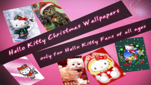 ios限免、限免軟體app遊戲-Hello Kitty Christmas Wallpapers √ 2