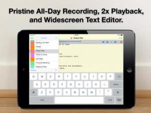 ios限免、限時免費軟體APP遊戲-Audio Notebook 1