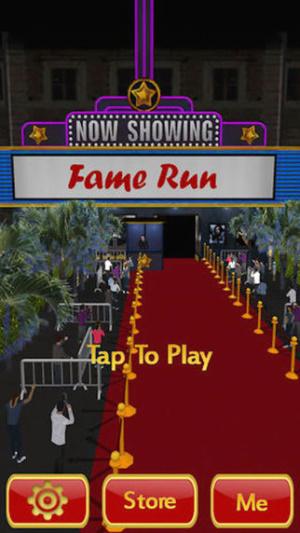 ios限免、限時免費軟體app遊戲-Fame Run 1