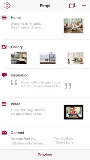 ios限免、限時免費軟體app遊戲-Simpl Website Builder 1