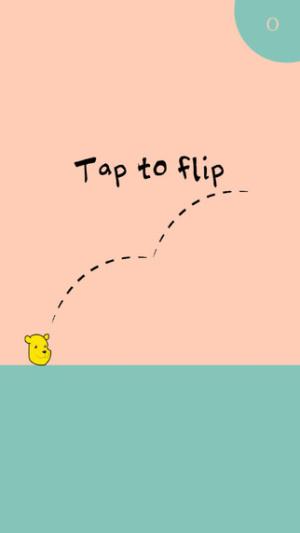 ios限時免費軟體-Winnie the flip 2