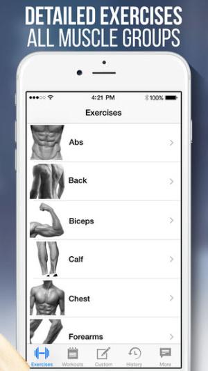 iOS限免、限時免費app遊戲軟體-Fitness & Bodybuilding 2