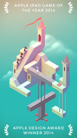 ios限免、限時免費軟體app遊戲-Monument Valley 1