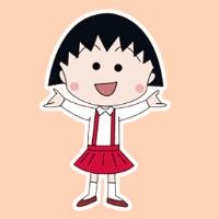 line免費貼圖-CHIBI MARUKO FI