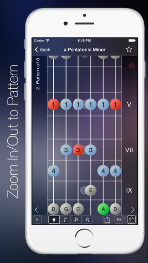 iOS限免、限時免費軟體遊戲app-Star Scales Pro For Guitar 1