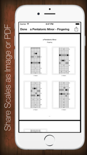 iOS限免、限時免費軟體遊戲app-Star Scales Pro For Guitar 2