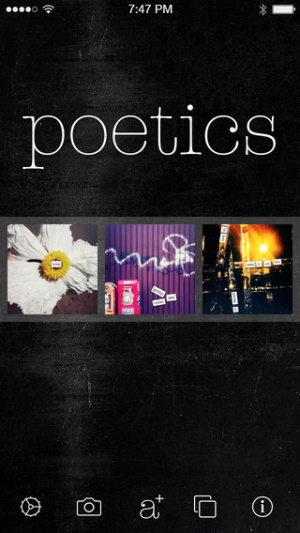 iOS限免、限時免費軟體app遊戲-Poetics 1