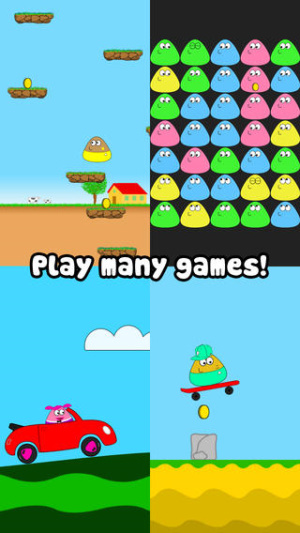 iOS限免、限時免費app軟體遊戲-Pou 2