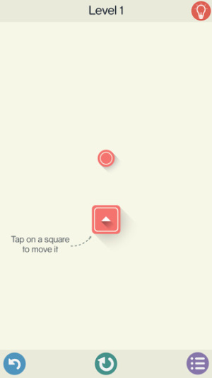 iOS限免、限時免費app軟體遊戲-Squares 1