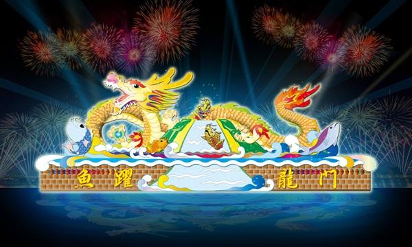 2017元宵燈會在雲林,虎尾,北港 (4)