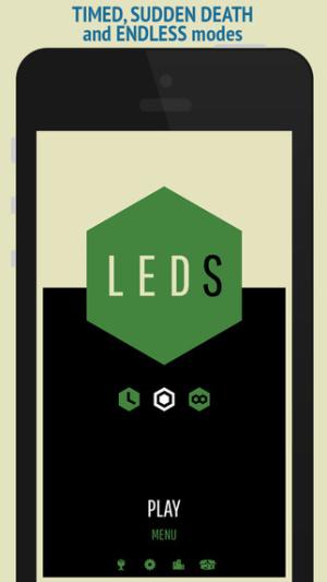 iOS限免、限時免費app遊戲軟體-LEDS 2