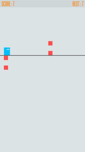iOS限免、限時免費軟體APP遊戲-The Line Rush 2