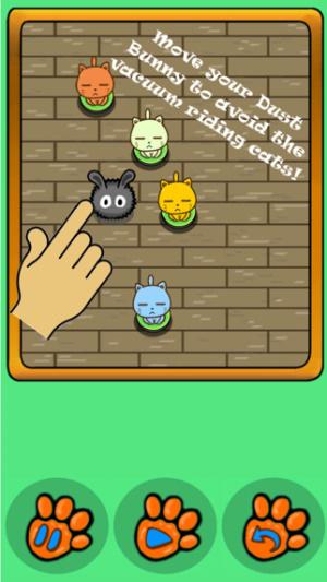 iOS限免、限時免費app軟體遊戲-Cats -N- Vacuums 1