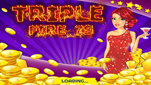 A Fire 777 Slots Inferno Casino Machine-1