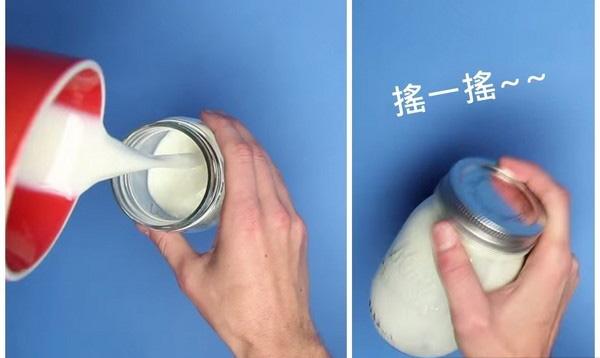 微波爐妙用-咖啡奶泡2